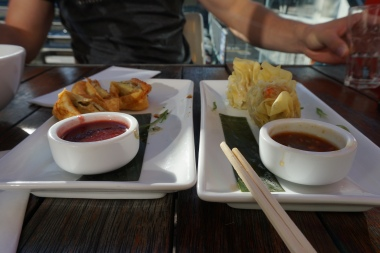 Appetizers at Chow
